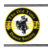 Old Time Dance Society